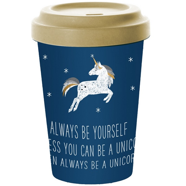 Bakeria Coffee To Go Becher Always Unicorn 400ml Travel Mug