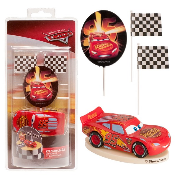 Bakeria Kuchendekoration Cars Lightning Mcqueen Set Cars Lightning