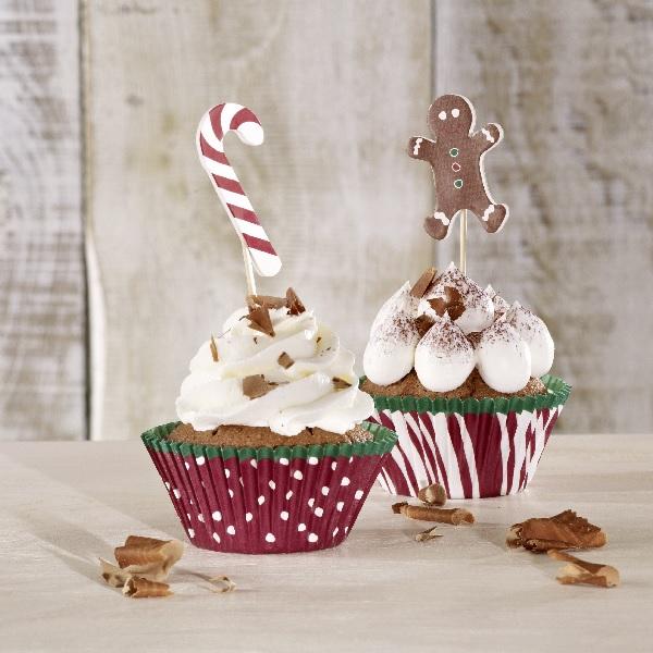 bakeria cupcake deko set candy x mas. Black Bedroom Furniture Sets. Home Design Ideas