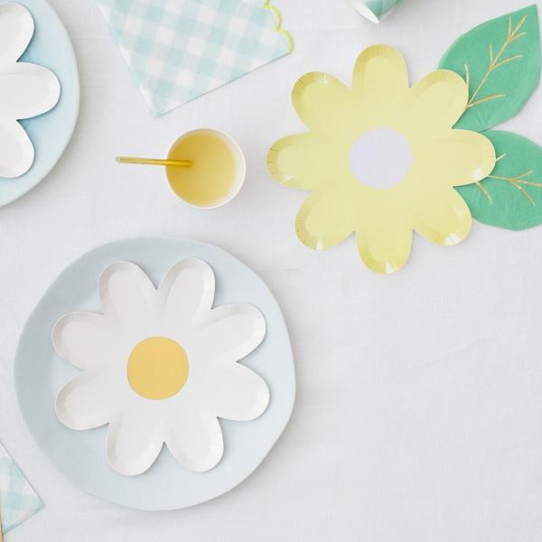 Meri Meri Pastel Daisy Paper Plates 12 pcs_2  sc 1 st  Bakeria & Bakeria- Meri Meri Pastel Daisy Paper Plates 12 pcs- Pastel Daisy ...