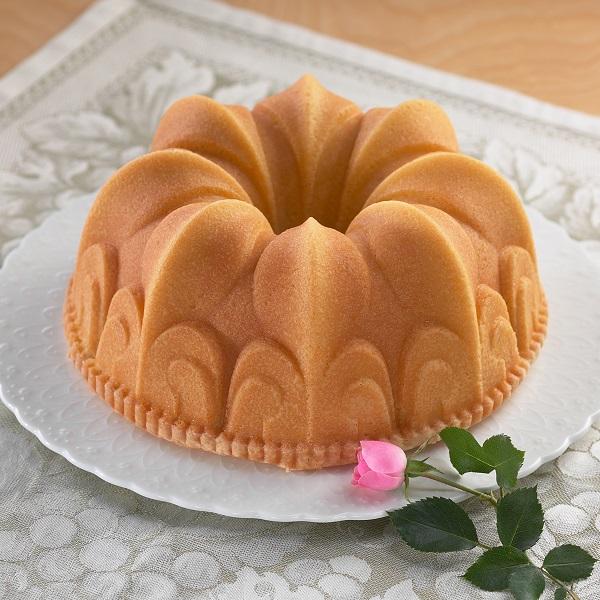 Bakeria Fleur De Lis Gugelhupf Backform Lilienbluten Backform