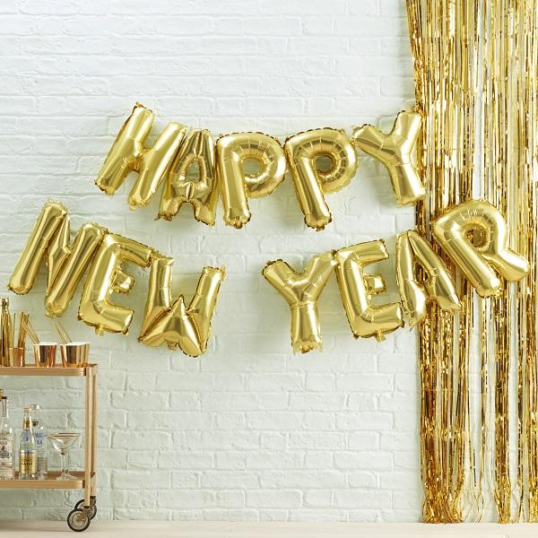 Happy New Year Balloons 19