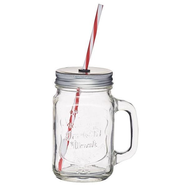 Bakeria henkelglas mit deckel weiss confi trinkglas - Comprar tarros de cristal pequenos ...