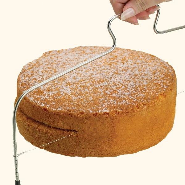 Bakeria Tortenbodenteiler Tortenschneider Tortenbodenschneider
