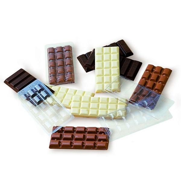 ca á Martellato Schokoladentafel-Form aus Polykarbonat für 3 St 100g