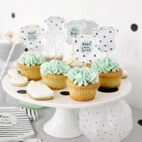 7-teilig Wilton Oster-Cupcake-Dekorationsset