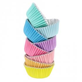 48 Muffinförmchen Cupcake Papierförmchen Muffin Punkt Ostern Blumen Birkman
