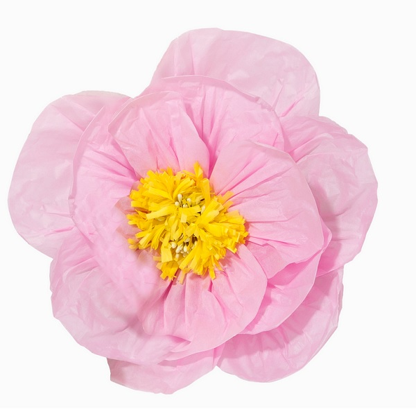 Bakeria 30cm Rosa Poppy Blumen Dekoration 1 Stck Rosa