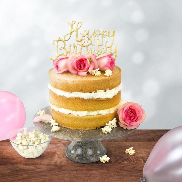 Bakeria PME Happy Birthday Script Topper Ausstecher PME