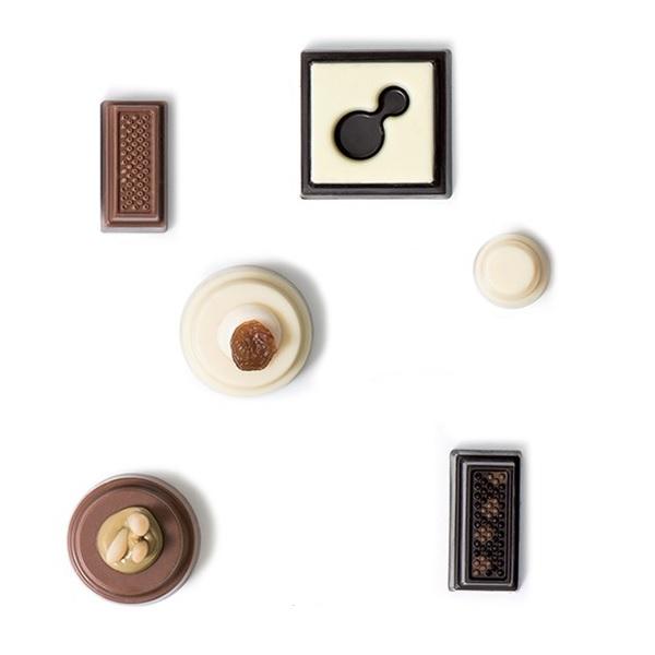 bakeria profi schokoladenform pralinen assortiert profi. Black Bedroom Furniture Sets. Home Design Ideas