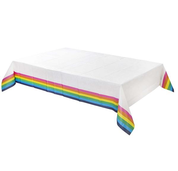 Bakeria Regenbogen Tischdecke 180x120cm Papier