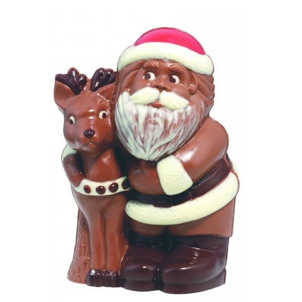 Schokoladen Weihnachtsmann