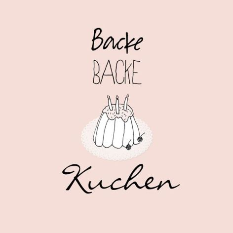 Bakeria Backe Backe Kuchen Cocktail Servietten 20 Stuck Backe