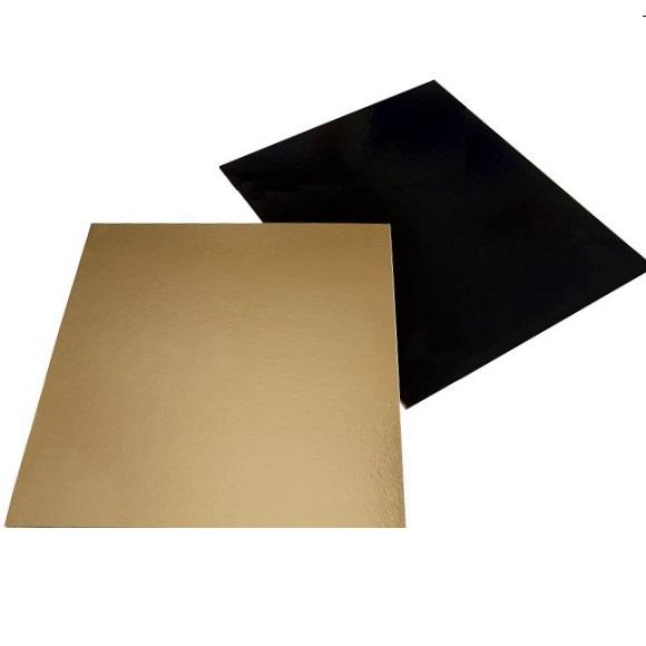 Cake Board Rund Gold 28 cm Tortenplatte