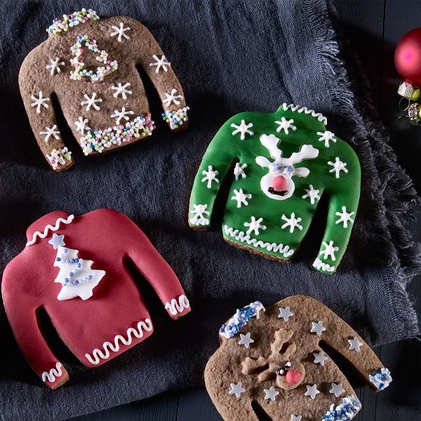 Weihnachtskekse Oetker.Dr Oetker Ugly Christmas Sweater Ausstecher Set 3 Teilig Fa 1065
