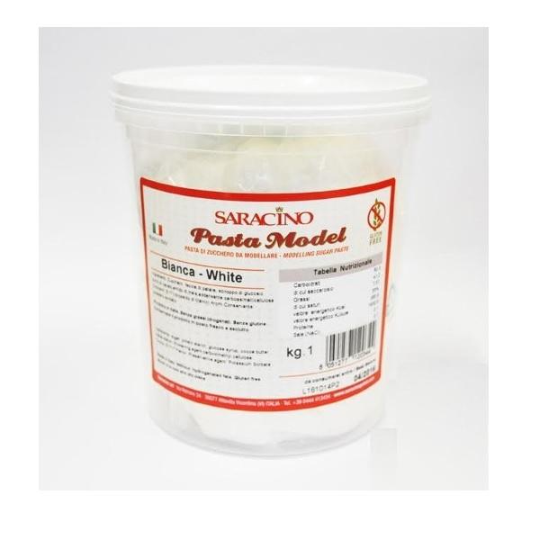 Saracino Italian Modelling Paste White 1kg