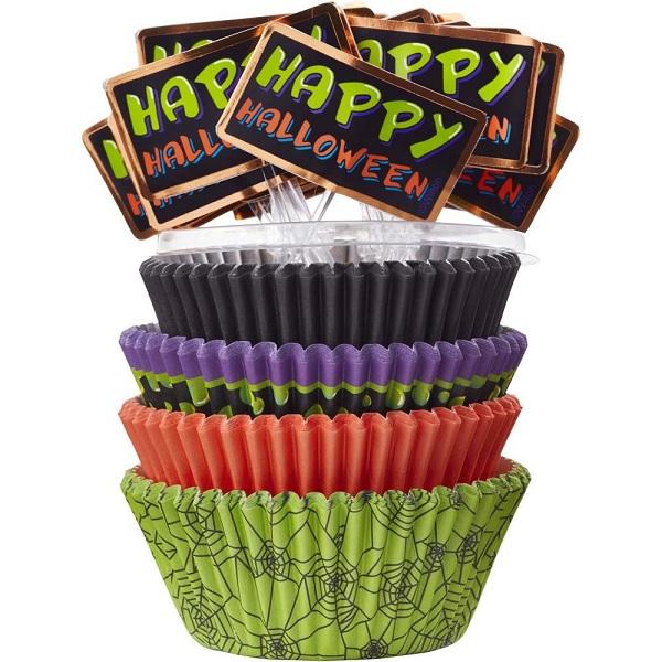 Wilton Happy Halloween Cupcake Combo Set 1