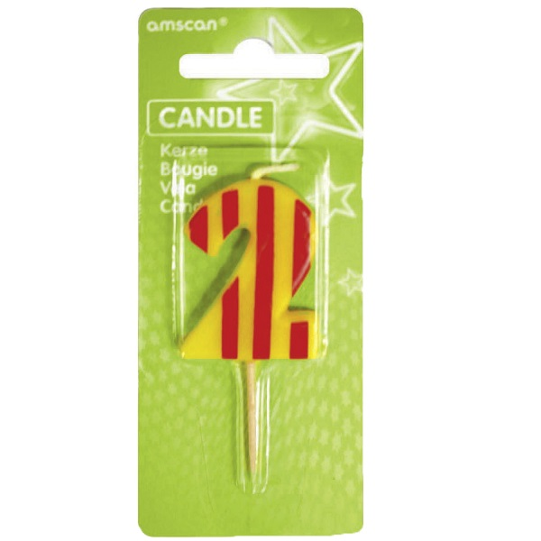 Number 2 Birthday Candle 1